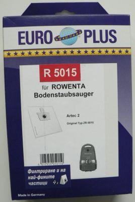 Торби за прахосмукачки ROWENTA - 4 бр. (Europlus  R 5015; отговарят на код TONI: RO21)